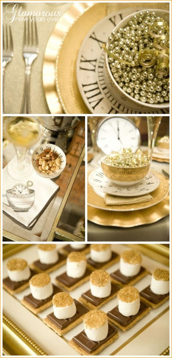 Make It Glitter - 28 Fun and Easy DIY New Year's Eve Party Ideas