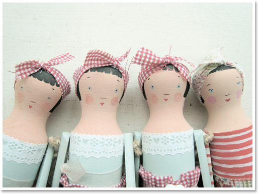 Wooden doll kits