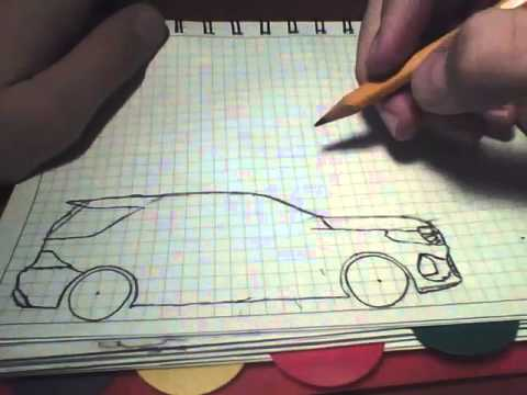 How to draw Toyota Camry