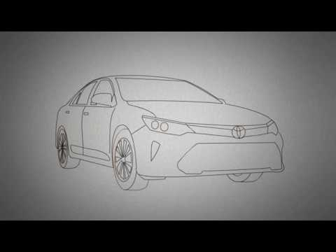 How to draw a toyota camry