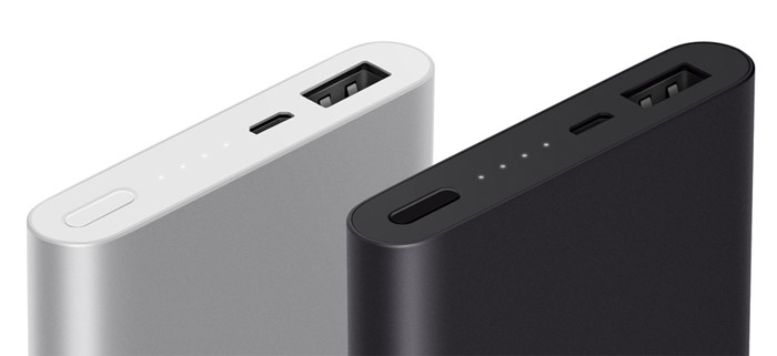 10000 мАч Xiaomi Mi Power Bank 2